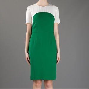 Stella McCartney Contrast Dress in Green